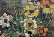 Grace Libby Vollmer Painting Close Up
