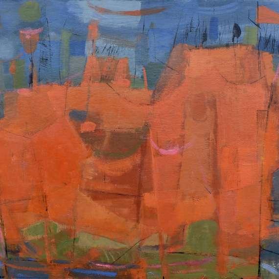 Irene Pattinson 'Untitled Abstract'