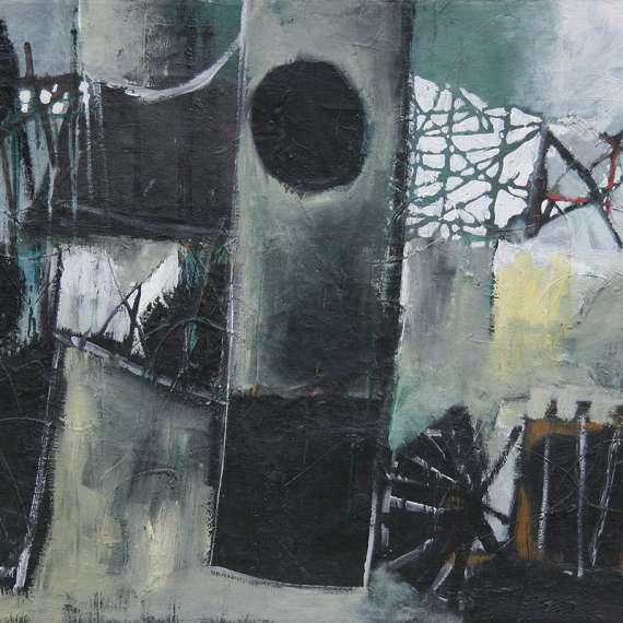 John Hultberg 'Abstract 1950'