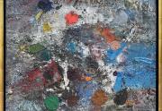 John Saccaro Painting Framed