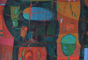 Joseph Fiore Abstract Painting