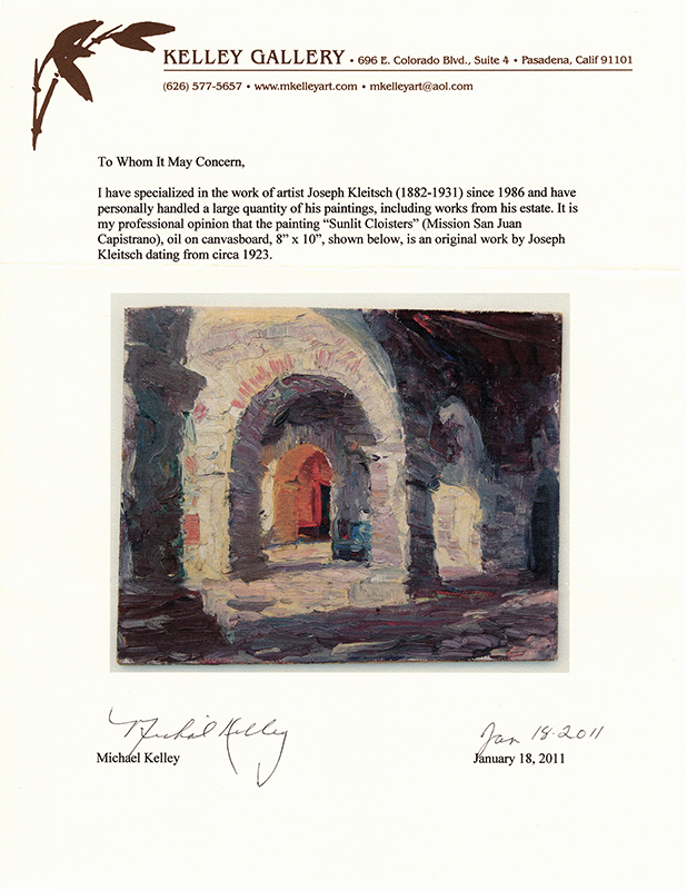 kelley-gallery-kleitsch-letter
