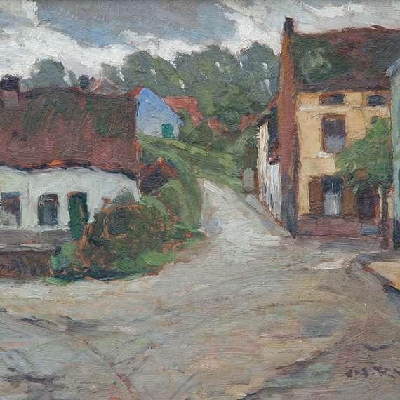 Joseph Raphael 'Old Country Village'