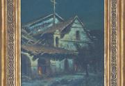 Manuel Valencia Mission Painting