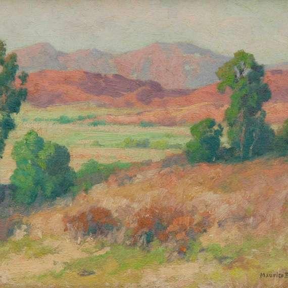 Maurice Braun 'The Hillside'