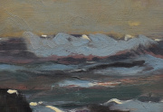 Paul Dougherty Painting Close Up