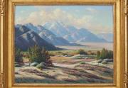 Paul Grimm San Jacinto Painting