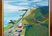 Paul Wonner Painting Framed