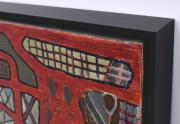 Richard Nelson Painting Corner Closeup