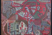 Richard Nelson Painting Framed