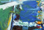 Robert Frame Painting Close Up