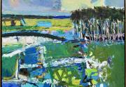 Robert Frame Painting Framed