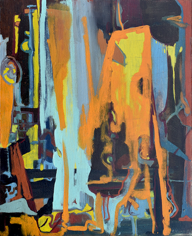 robert-kaess-abstract-1950-painting