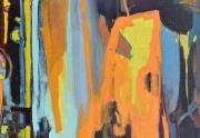 Robert Kaess Abstract Painting Close Up