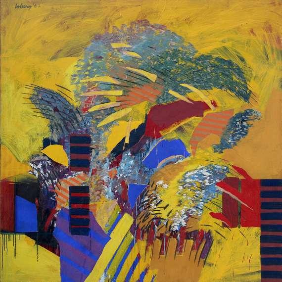 Robert Loberg 'Painting #11' 1962