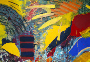 Robert Loberg Painting Close Up