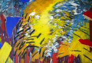 Robert Loberg Artwork Close Up