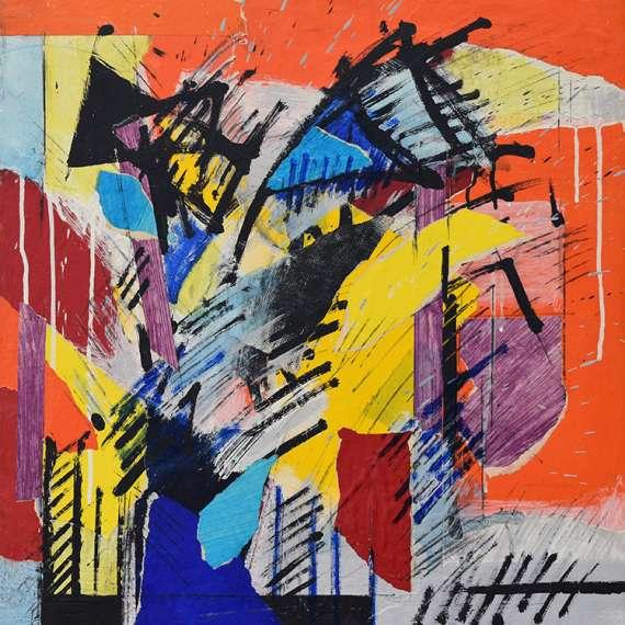 Robert Loberg 'Untitled Abstract'
