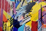 Robert Loberg Abstract Closeup