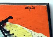 Robert Loberg Signature Closeup