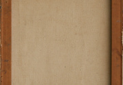 Ruth Armer Painting Canvas Back