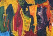 Ruth Wall Abstract Painting