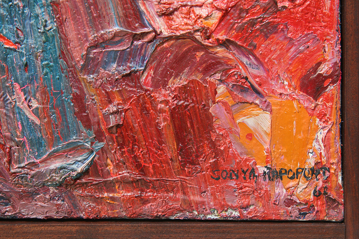 sonya-rapoport-painting-signature