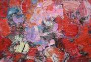 Sonya Rapoport Painting Close Up