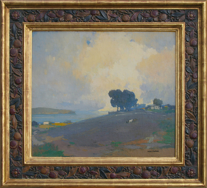 Arthur Mathews painting framed