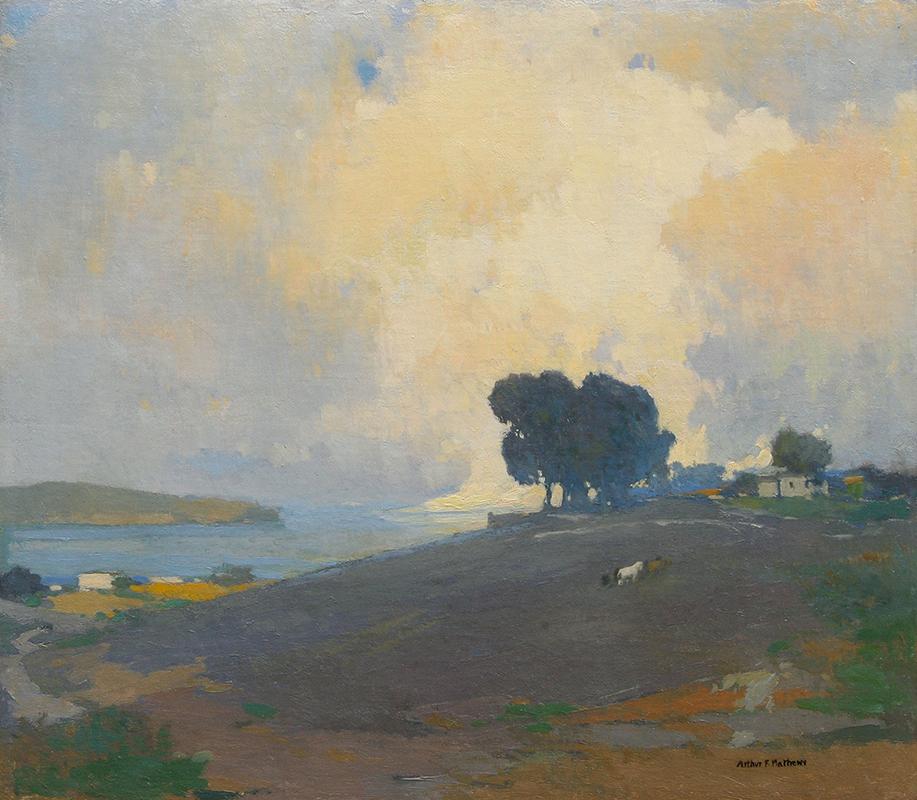 Arthur Mathews painting