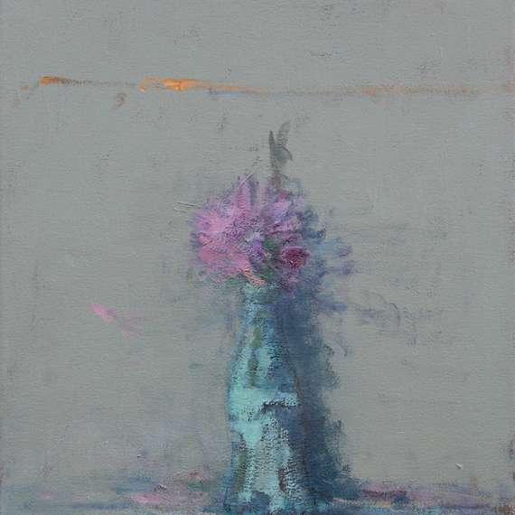 Terry DeLapp 'Pink Gerbera and Coke Bottle'