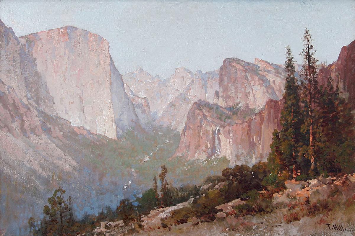 thomas-hill-painting