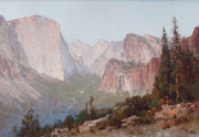 Thomas Hill Painting