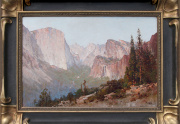 Thomas Hill Yosemite Painting