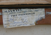 Tom Ide Maxwell Gallery Label