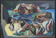 Walter Kuhlman Abstract Painting