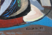Walter Kuhlman Painting Signature