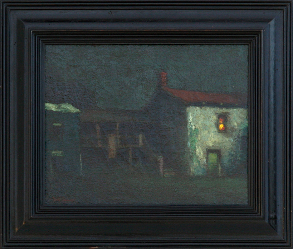 Will Sparks Stevenson House Painting