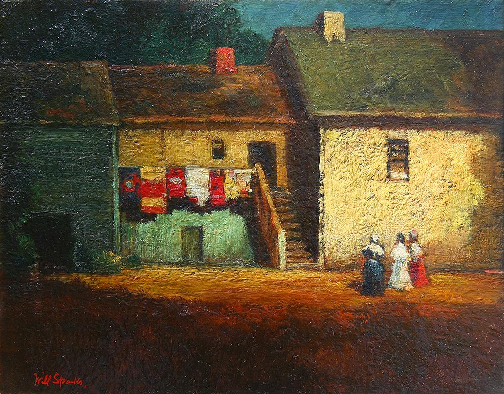 will-sparks-stevenson-house-painting