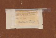 William Clapp Painting Label