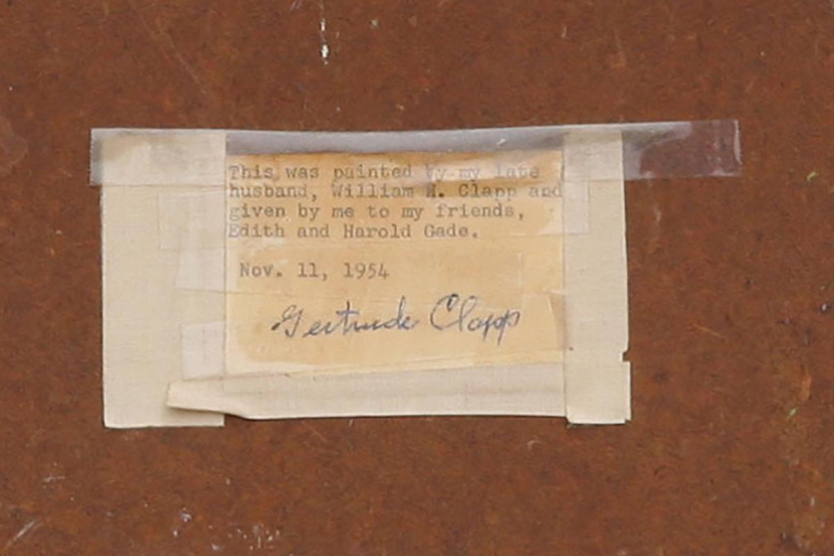 william-clapp-painting-label