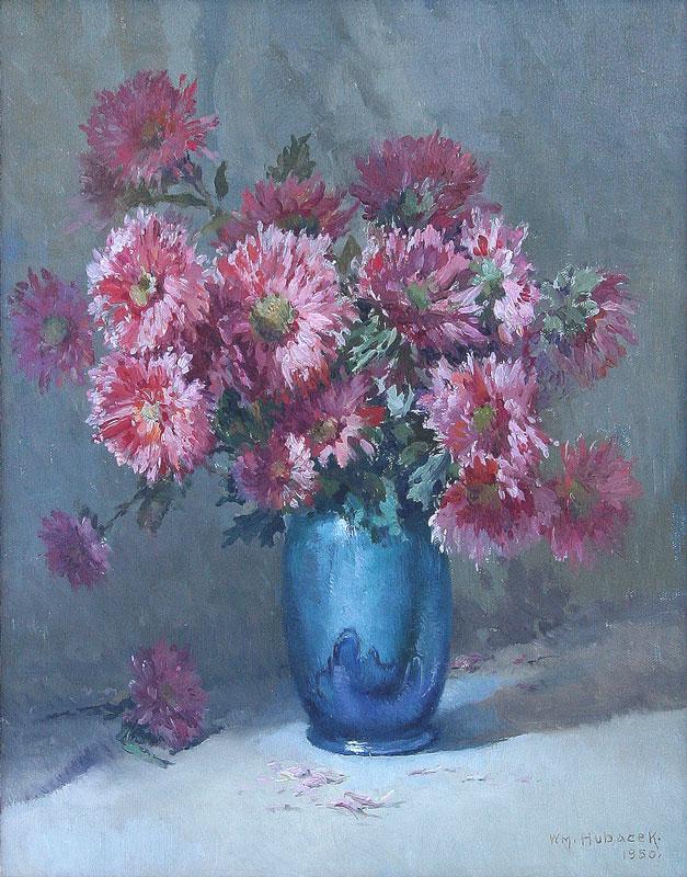 william-hubacek-painting-1950