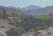 William Wendt San Antonio Painting