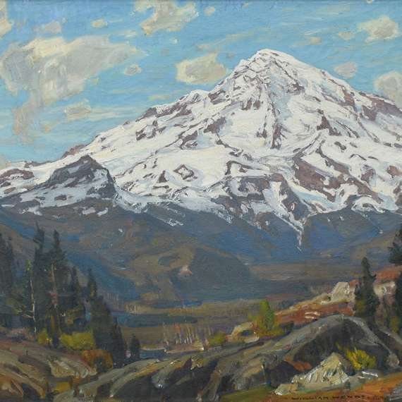William Wendt 'The Mountain Majestic'