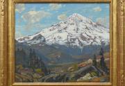 William Wendt Painting Framed
