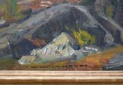 William Wendt Painting Signature