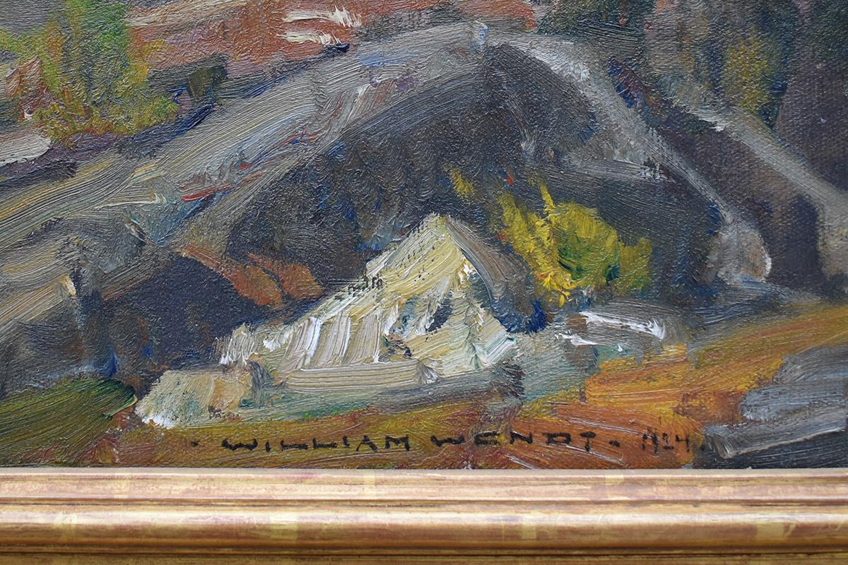 william-wendt-painting-signature