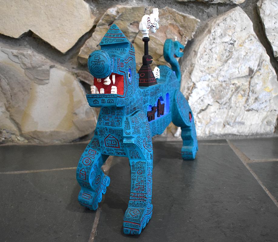 ynez-johnston-blue-dog-dragon-closeup